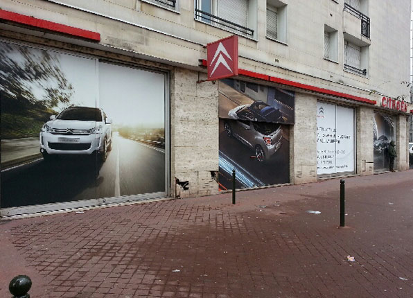 marquage facade citreon