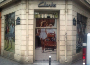 microperfore magasin clarks